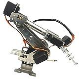 CUTICATE 6 Achsen Roboterarm Greifer Baukasten Roboter-Arm DIY Roboter Ersatzteile für Arduino Raspberry