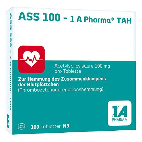 ASS 100-1A Pharma TAH 100 stk