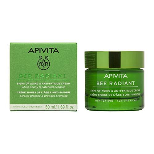 Apivita Bee Radiant crema antiarrugas y antifatiga - textura rica