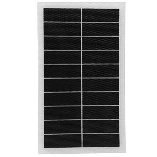 DAUERHAFT 7W 10V Panel de energía Solar Luz Solar para jardín Sistema de iluminación para el hogar para Luces de Emergencia para semáforos, Luces para el hogar para Luces del hogar, Ventiladores