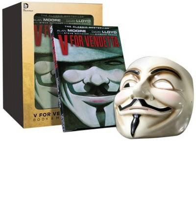 V for Vendetta Deluxe Collector Set, Book and Mask Set by Alan Moore(1905-07-04)