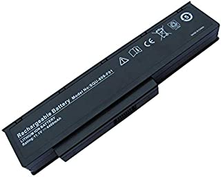 Replacement Laptop Battery for Fujitsu Amilo Li3710/SQU-809 F01/SQU-808-F02 / 11.1v / 4400 mAh/Double M