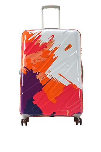 Skybags Polycarbonate Hard Trolley Bag (MIRNXT69MOG_Orange)