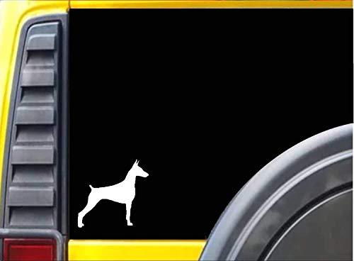 Doberman-Aufkleber, 15,2 cm, Pinscher, Rettungshund Aufkleber