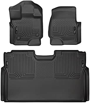 Husky Liners Fits Ford F-150 SuperCrew Front & 2nd Seat Floor Mats