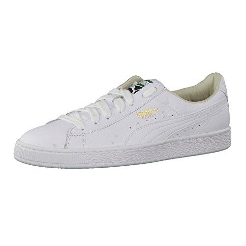 Puma Herren Basket Classic LFS Sneakers, White, 36 EU