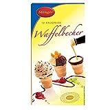 Waffelbecher mit Schokolade 12 Stück - tolle DDR Kultprodukte - DDR Produkte