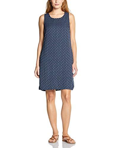 Cecil Damen Kleid, Mehrfarbig (deep blue), Large (Herstellergröße:L)