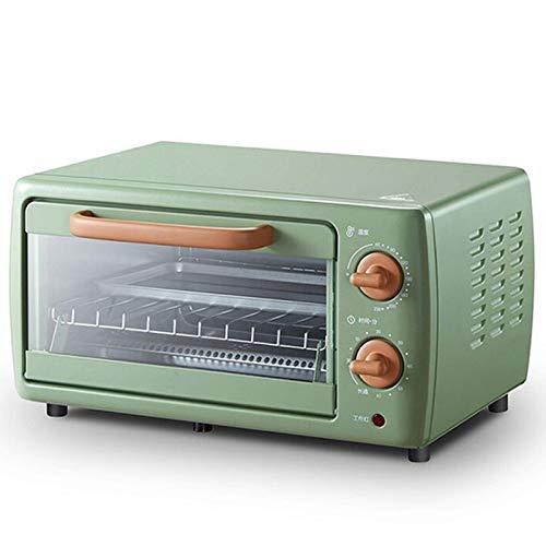 NLRHH Mini-Weinlese-Elektro-Ofen, Haushalt Multifunktionale Klein Backofen Backofen, Küchen 10,5l Roast Chicken Wings, Pizza Broil Frühstück Maschine Peng
