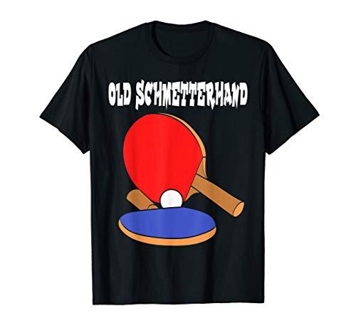 Tischtennis Old Schmetterhand PingPong Tee Tabletennis