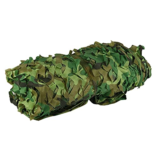LXLCZ Camo Netting Roll, Oxford Fabric Camo Netting, Camo Net Cover, Military Forest Hunting Shooting Hide Net For Camping Theme Party Decoration Car Covers(Color:10x12m/32.8x39.3ft)