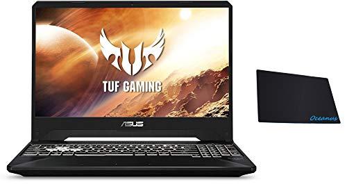 Asus TUF 15.6-inch FHD Gaming Laptop, AMD Ryzen 7 3750H Processor, Nvidia GTX 1650 Max-Q, 8GB DDR4 RAM, 256GB PCIe SSD, RGB Backlit Keyboard, Windows 10 Home, Black w/OD Mouse Pad