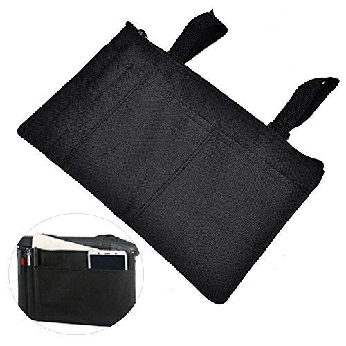 Rollstuhl-Seitentasche – Armlehnen-Tasche – ideal für Elektro-Rollstühle, Elektro-Scooter, Gehhilfe, andere Mobilitätsgeräte