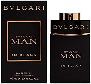 Bvlgari Man in Black Eau de Parfum Spray for Men, 3.4 Ounce