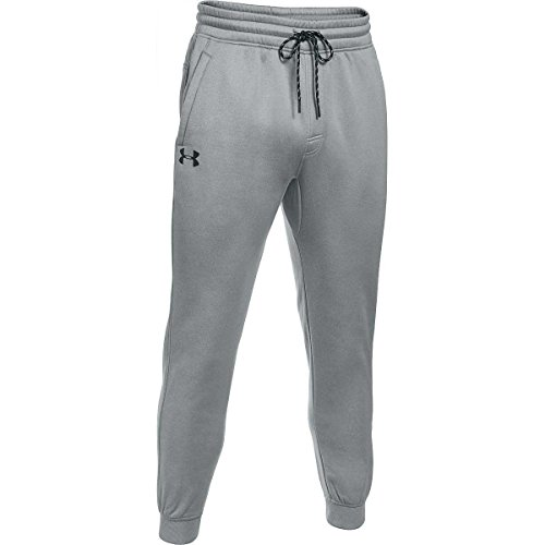 Under Armour, Storm Af Icon Jogger, Pantaloni Sportivi, Uomo, Grigio (True Gray Heather/Black 025), XXL