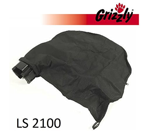 Grizzly Fangsack mit Halterung für Elektro Laubsauger LS 2100
