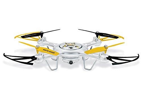 Mondo Motors - Ultra Drone X31.0 Explorers Camera 720 P. - Batteria 3.7 V Li Poly - Funzioni di Sospensione Altitudine | Decollo | Atterraggio | Hover function | Flip Stunts - regalo per bambini
