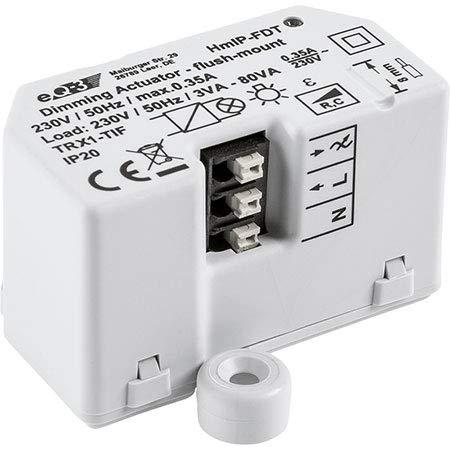 3er Set Homematic IP Dimmaktor Unterputz HmIP-FDT Phasenabschnitt