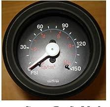Veethree 160965 Air Pressure Gauge 150PSI Dual Needle