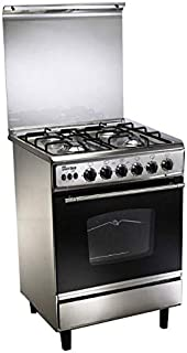 Unionaire C6060SS-AP-447-L, 4 Gas Burner Stainless Steel