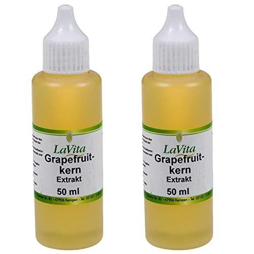 SIDCO Grapefruitkern Extrakt Grapefruitextrakt Kernextrakt Citrus Grandis 2 x 50 ml