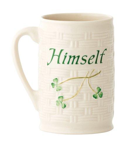 Belleek Himself Mug, 4.5'