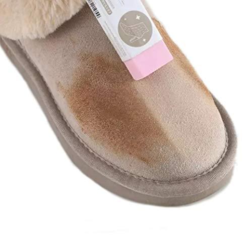 WOO LANDO Schuh Radierer - reinigt Turnschuhe und Lederschuhe ohne Wasser- handlich & klein - für schnelle Ergebnisse unterwegs (LEATHER)