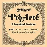 CUERDA SUELTA GUITARRA CLASICA - Dエaddario (J/4602) Pro/Arte Fuerte (Minimo 5 Cuerdas) 2ェ