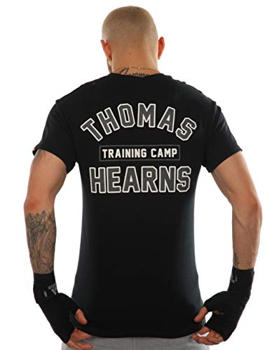 Kronk Thomas Hearns Training Camp Men's T Shirt Regular Fit Black Large