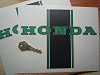 Honda Dax 70/50 Monkey Bike Green Stickers ホンダ ステッカー シール デカール バイク 205mm x 160mm 2枚セット [並行輸入品]