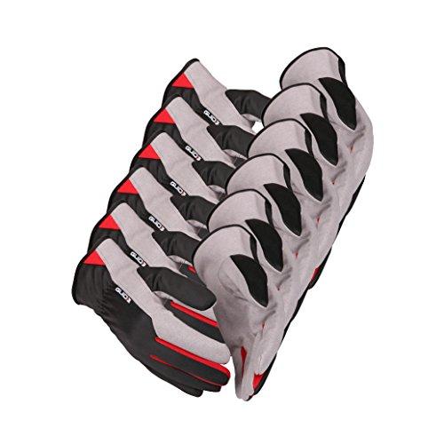 6 x Guide 761 Schutzhandschuhe aus amara-Synthetikleder mit Handschuhberater, 6 Paar-8