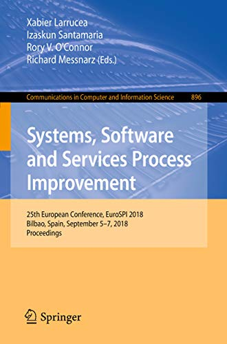 Systems, Software and Services Process Improvement: 25th Eur