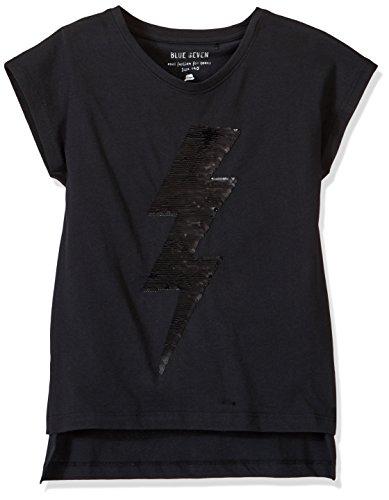 Blue Seven VD-502581 T-Shirt, Multicolore (Schwarz Orig 999), (Taglia Produttore:152) Bambina