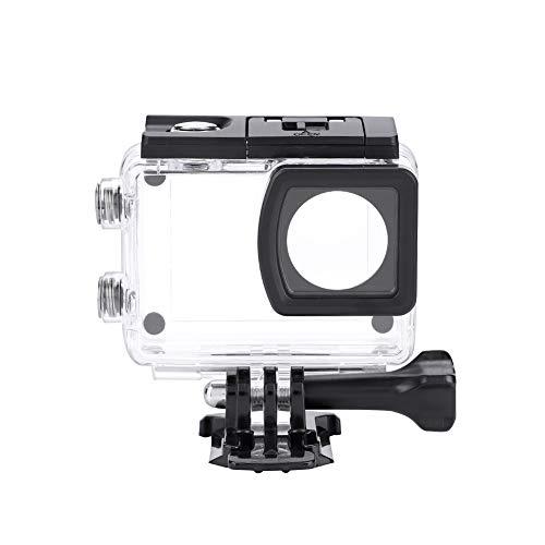 V BESTLIFE Funda Impermeable, Carcasa de Buceo bajo el Agua Funda Impermeable para cámara para videocámara SJCAM SJ6 Legend
