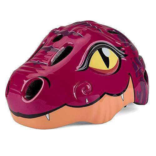 lingzhuo-shop Casco de Bicicleta Infantil Protección Patinaje Protección Infantil Consta de Casco...