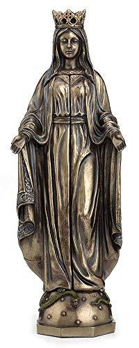 Madonna Figur Triptychon Hausaltar Antikstil Sakrale Skulptur WU75630A4 Palazzo Exklusiv