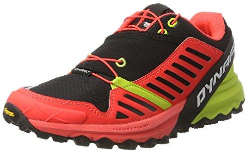 Dynafit Alpine Pro W, Zapatillas de Running para Asfalto Mujer, Multicolor (Black/Lime Punch), 38.5 EU