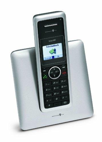 Deutsche Telekom T-Home Telefon Sinus 302i ISDN-Telefon silber/schwarz