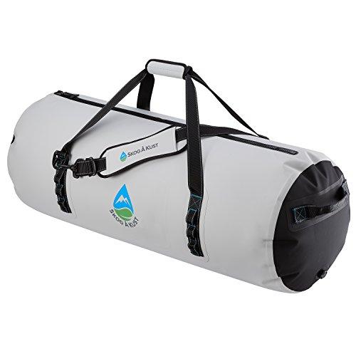 Skog Å Kust DuffelSåk Pro 100% Waterproof & Airtight Duffle Bag   100L Grey