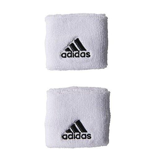 adidas Tennis Schweißarmbänder S Tennis Wristband (S) - white/black/black, Größe adidas:OSFM