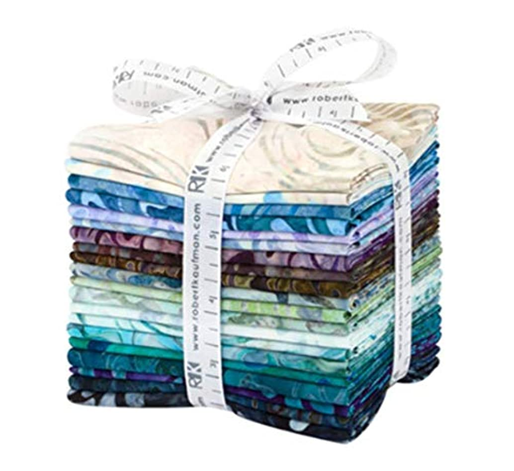 Lunn Studios Artisan Batiks Aqua Spa 20 Fat Quarters Robert Kaufman Fabrics FQ-1504-20