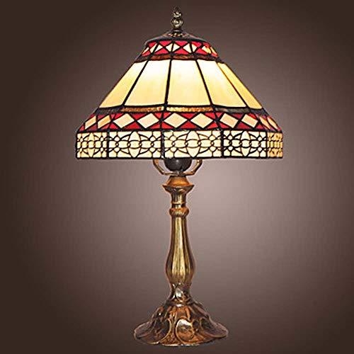 Kaper Go Lámpara De Mesa Tiffany Lámpara De Pared De Metal Lámpara De Mesa Linda Lámparas De Iluminación para Interiores De Dormitorio 40W