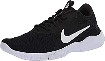 Nike Women s Flex Experience Run 9 Shoe Black/White-Dark Smoke Grey 7 Regular US