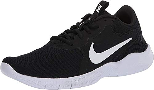 Nike Women's Flex Experience Run 9 Shoe, Black/White-Dark Smoke Grey, 8 Regular US