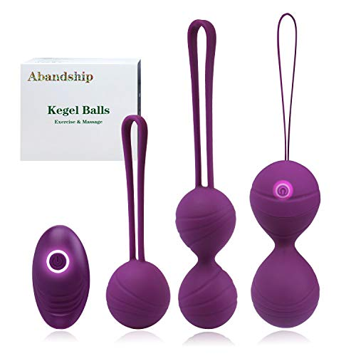 Kegel Balls for Women, Kegel Exercise Product with 3 Ben Wa Balls for...