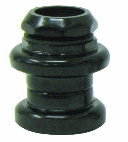 ETC 24 TPI - Serie sterzo in Acciaio, 22,2 x 30 x 27 mm, Colore Nero