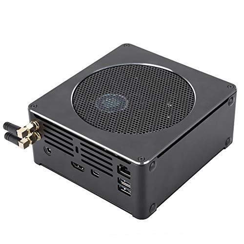 Mini computadora, Host de computadora de 4 núcleos de Alto Rendimiento, Mini DP 4K 60hZ, Compatible con Red inalámbrica de Banda Dual 2.4G / 5G, para Intel i5 8300H, 100-240V(US1)
