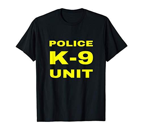Police K-9 Unit Officer Tactical K9 Dog Handler Trainer Gift T-Shirt