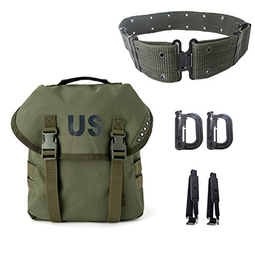 Multipurpose Military Alice Butt Pack,Army Sling Bag Molle Webbing...