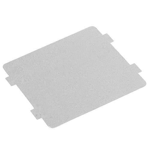 10Pcs Waveguide Cover 108x99mm Universal Mica Plates Sheets Papel para horno de microondas Reparación de piezas de repuesto Cortadas a medida Hojas de guía de forma de onda